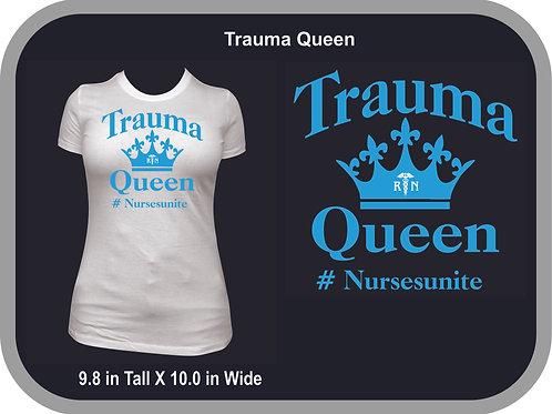Trauma Queen, Blue