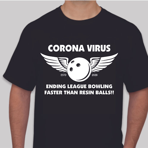 Corona Virus Bowling Ball Design  * FREE SHIPPING*