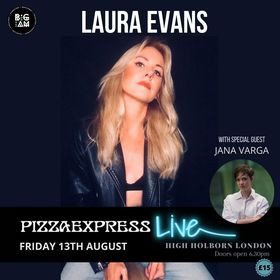 NEWS!! - Laura Evans Live in London on  Friday
