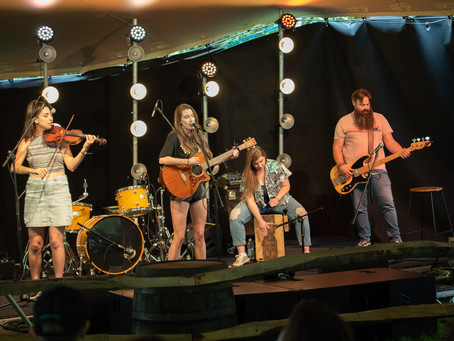 Vic Allen Band! - Buckle & Boots 2021 - The Paddock Stage