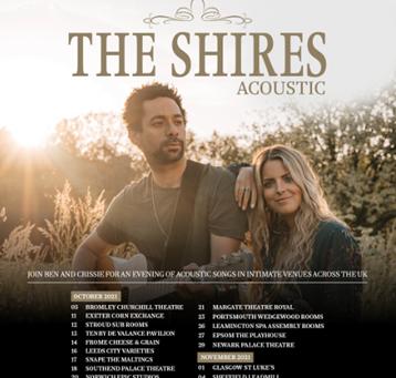 The Shires 2021 Acoustic Tour