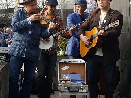Thunderbridge Bluegrass Boys - Big Entrance Stage - C2C 2017