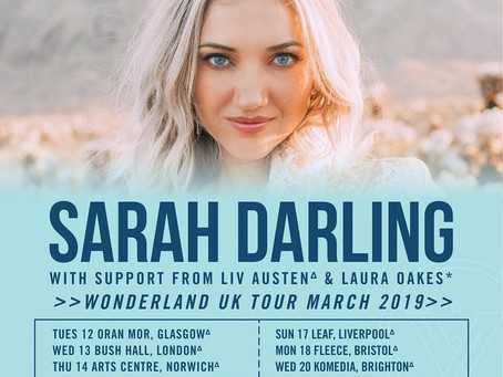 Sarah Darling - UK Tour