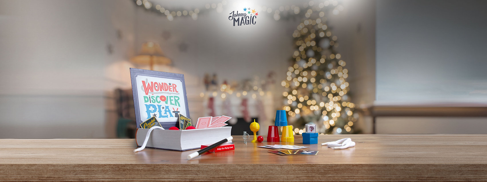 The Johnny Magic All-Star Magic Kit for Kids. Amazing Magic, Fun for everyone, made for kids.