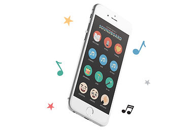 Magic Soundboard app with music and fx that will enhance the magic tricks being performed by kids.