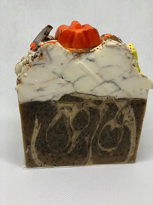 Exfoliating Pumpkin Spice Latte Soap