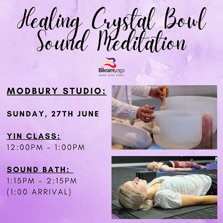 Healing Crystal Bowl Sound Meditation Modbury