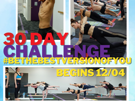 30 Day Challenge #BETHEBESTVERSIONOFYOU
