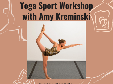 Yoga Sport (Intermediate Series) Workshop with Amy