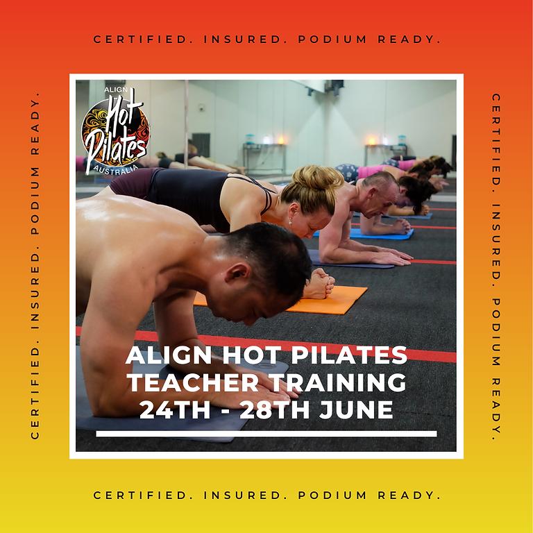 Align Hot Pilates Teacher Training