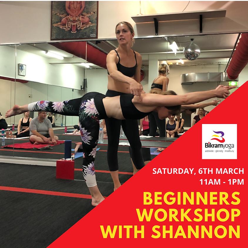 Beginner's Yoga Workshop with Shannon