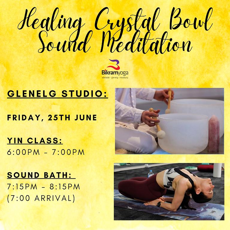 Healing Crystal Bowl Sound Meditation Glenelg
