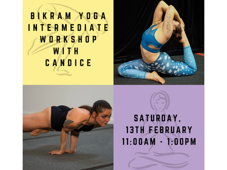 Intermediate Series (Yoga Sport) Workshop with Candice