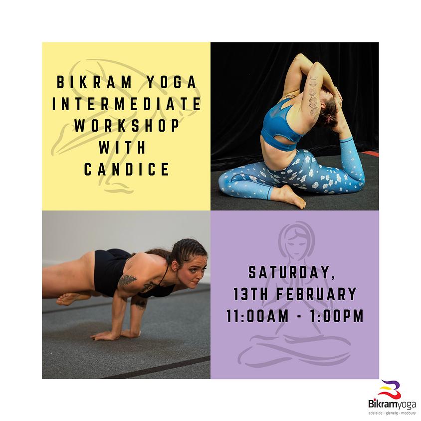 Intermediate Workshop (Yoga Sport) with Candice