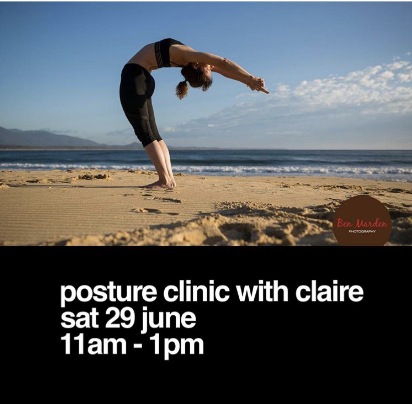 Posture Clinic With Claire