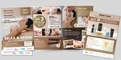 4-page A5 leaflet design