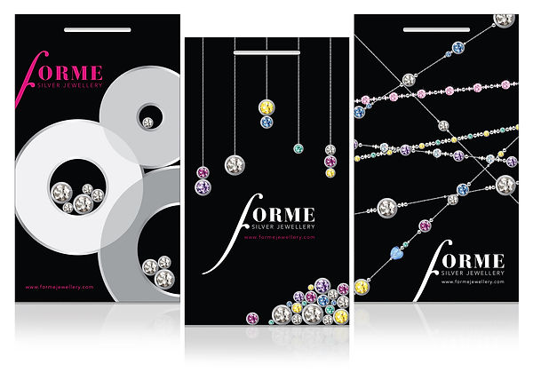 Packaging design for jewellery company