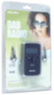 Packaging design for Bush DAB Radio