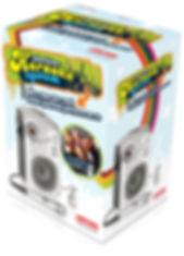 Packaging design for Hinari karaoke system