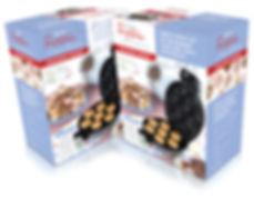 Packaging design for Hinari doughnut maker