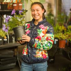 Happy Plant Sale Customer