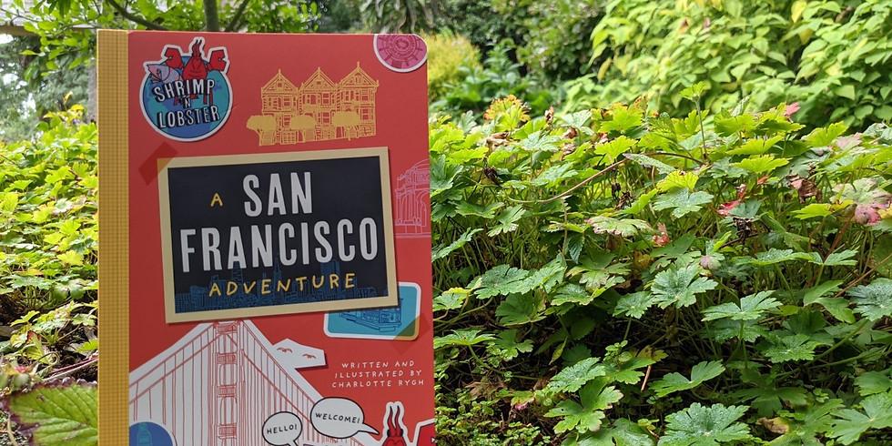 Story Time: Shrimp n' Lobster at San Francisco Botanical Garden with Green Apple Books