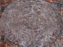 4' Aztec Calendar