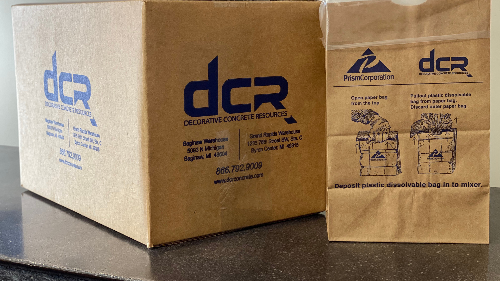 DCR Bags and Boxes