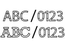 Alphabet & Number Sets