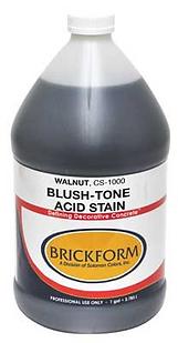 Brickform Blush Tone Acid Stain