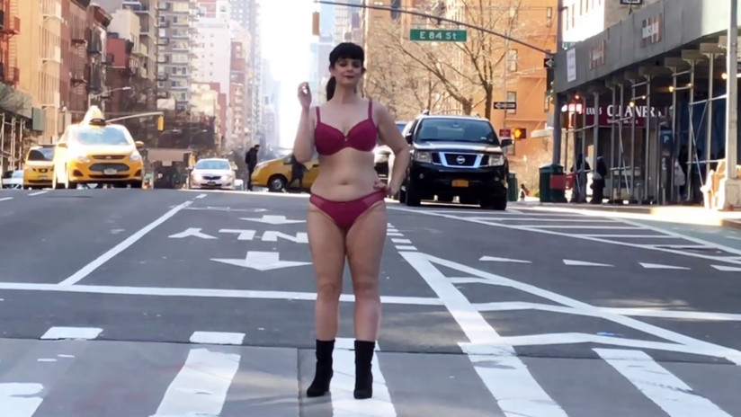 Walking for Lingerie company
