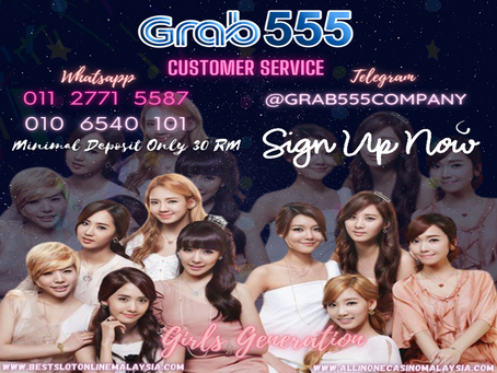 GRAB 555 support by 918Kiss Agent Malaysia`