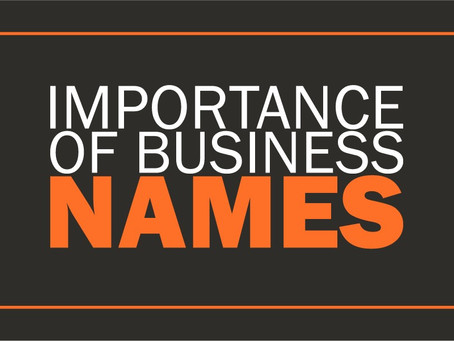 """Business Names Guide 