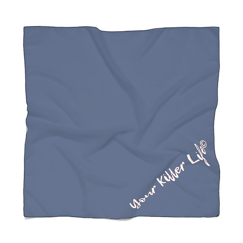 Poly Scarf - Navy