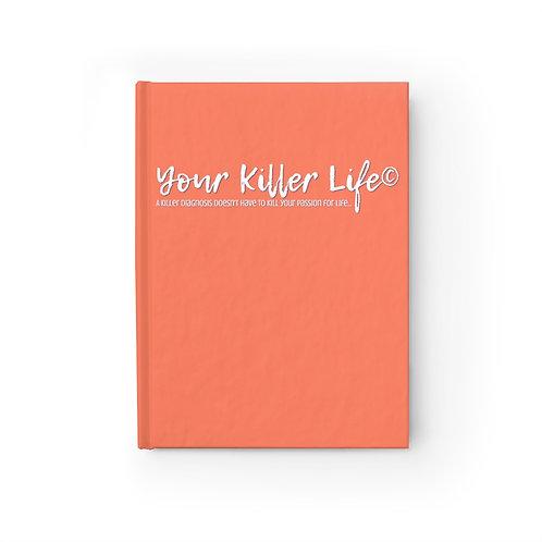 Journal Orange - Ruled Line