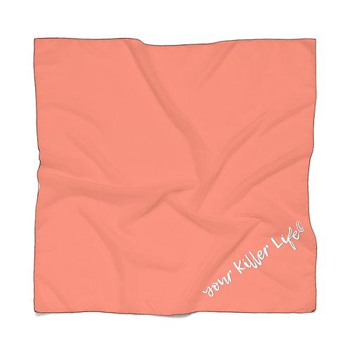 Poly Scarf - Orange