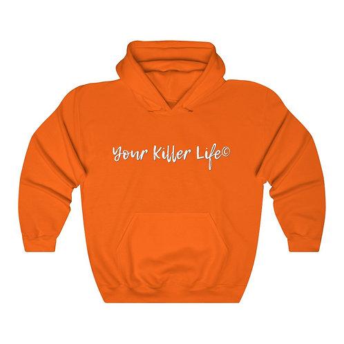 Unisex Heavy Blend™ Hooded Sweatshirt Orange