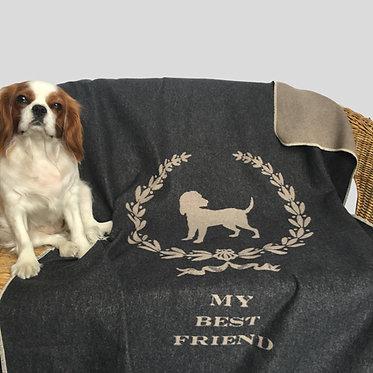 Coperta personalizzata per il tuo cane in cotone anallergico