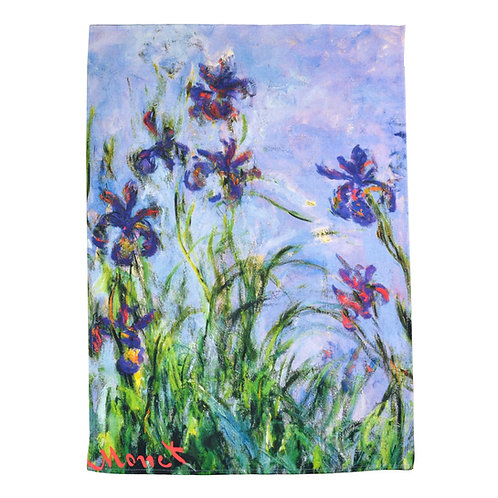Monet - Iris Mauves