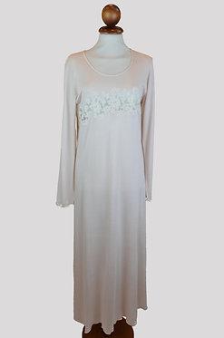 camicia da notte donna 100% micro modal made in Italy