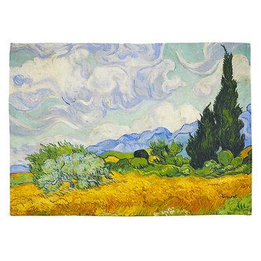 Van Gogh - Campo di grano con cipressi