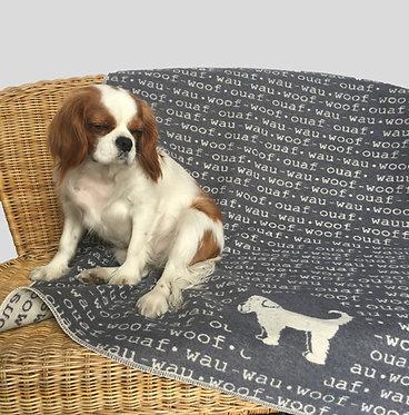 Coperta personalizzata per il tuo cane in puro cotone anallergico - WoofWoof