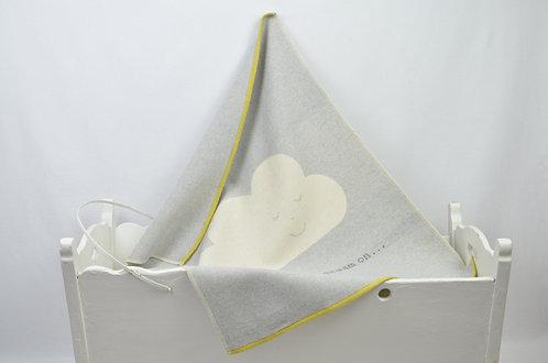 Copertina culla carrozzina 95% cotone personalizzabili con nome