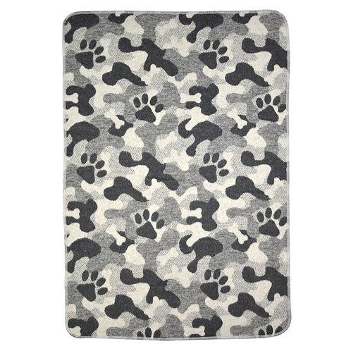 Coperta cani personalizzata con nome del cane in cotone anallergico
