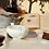 Tovaglia elegante in misto lino made in italy biancheria per la cucina
