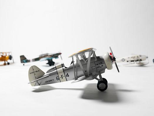 レトロなおもちゃの飛行機