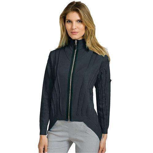 92701-01 Full Zip Knitted Jacket