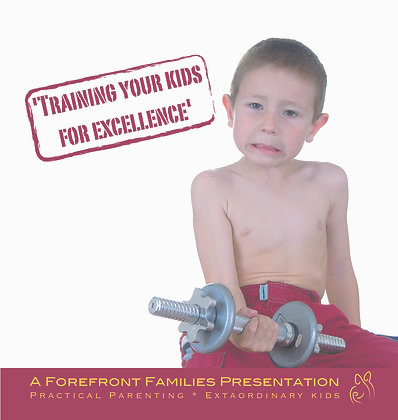Training Your Kids For Excellence