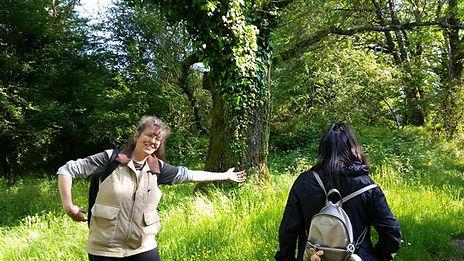 Introdurre le persone nella Natura e' gr