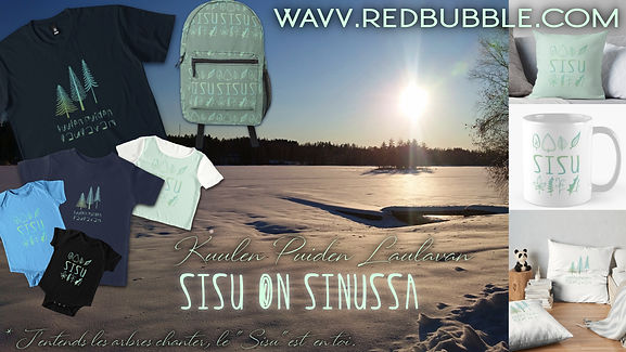 WAVV - Kuulen Puiden Laulavan - affiche Design Collection Sisu